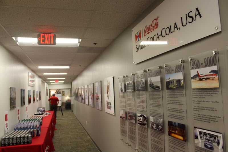 PMG FILE PHOTO - Swire Coca-Cola has 600 employees at its Wilsonville location.