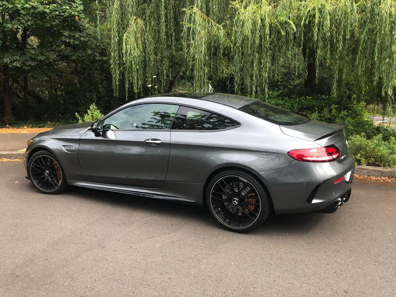 PMG PHOTO: JEFF ZURSCHMEIDE - The  Mercedes-Benz' popular C-Class includes compact sedans, coupes, and convertibles, but the C63 S Coupe is top of the line.