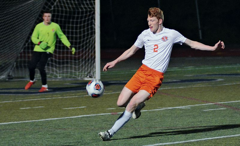 PMG FILE PHOTO - Scappoose's Brisyn Maller and the Indians boys soccer team got their shot on the pitch last fall, but this year's team will have to wait until March 2021 for its turn.