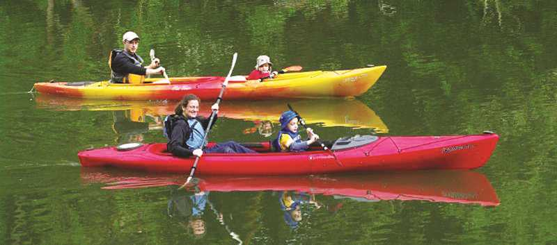 PMG FILE PHOTO - With the purchase of a portion of Ash Island near Newberg, the Willamette Riverkeepers can now erect camping facilities for paddlers plying the mighty river.