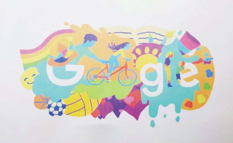 COURTESY PHOTO - Emma Strobel's design for the Doogle for Google competition will move onto the next phase of the contest.