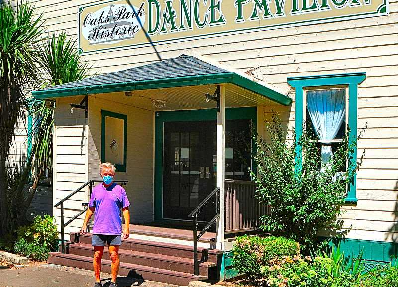 DAVID F. ASHTON - Its likely that this years Fair will be confined just to the historic Oaks Amusement Park Dance Pavilion, says FMCF Board President Larry Smith.
