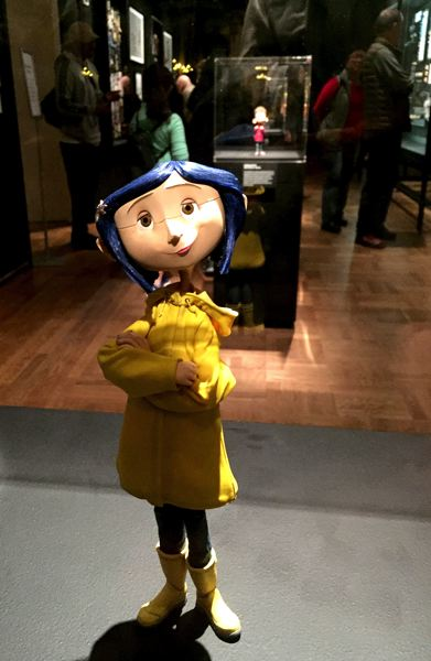 PMG PHOTO: KEVIN HARDEN - A stop-action figure from Laika's 'Coraline' movie was part of the Hillsboro company's 2017-18 Portland Art Museum exhibit. Laika said it would lay off 50 people because of COVID-19.
