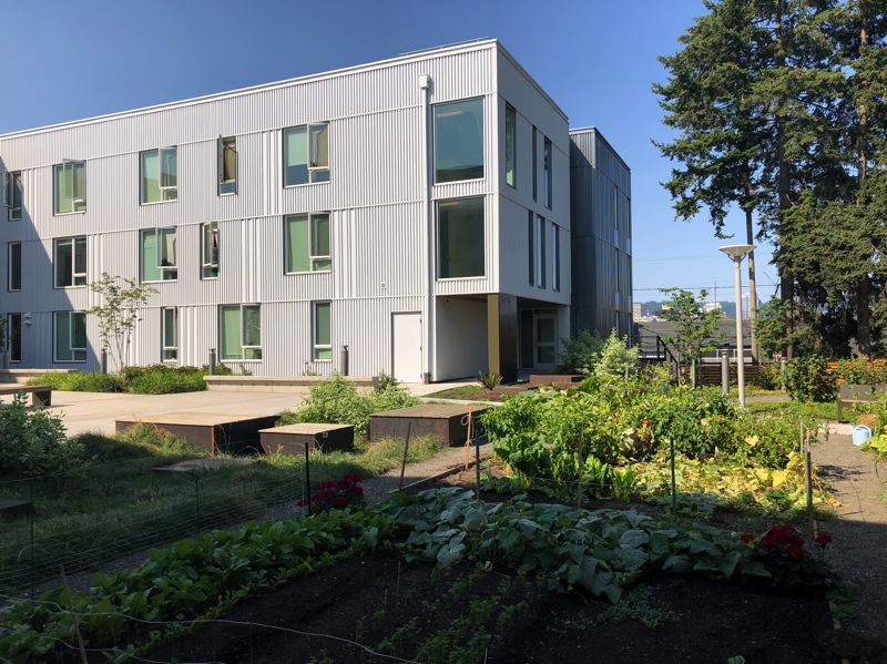 COURTESY: MWA ARCHITECTS - Southeast Portland's St. Francis Park Apartments, by MWA Architects, are the focus of a Design Week Zoom talk about updating the 1997 classic design book Good Neighbors.