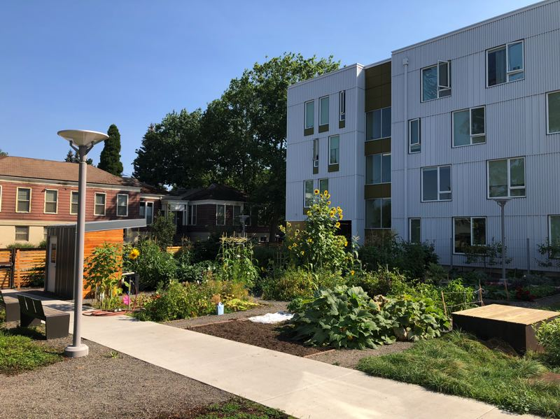 COURTESY: MWA ARCHITECTS - Southeast Portland's St. Francis Park Apartments, by MWA Architects, are the focus of a Design Week Zoom talk about updating the 1997 classic design book Good Neighbors.  Thursday, August 20th's virtual gathering is called Good Neighbors and takes place on Zoom from 4 pm to 6pm PST.