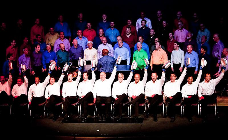 COURTESY PHOTO - The Portland Gay Men's Chorus and others are eligible for help from Oregon Cultural Trust.