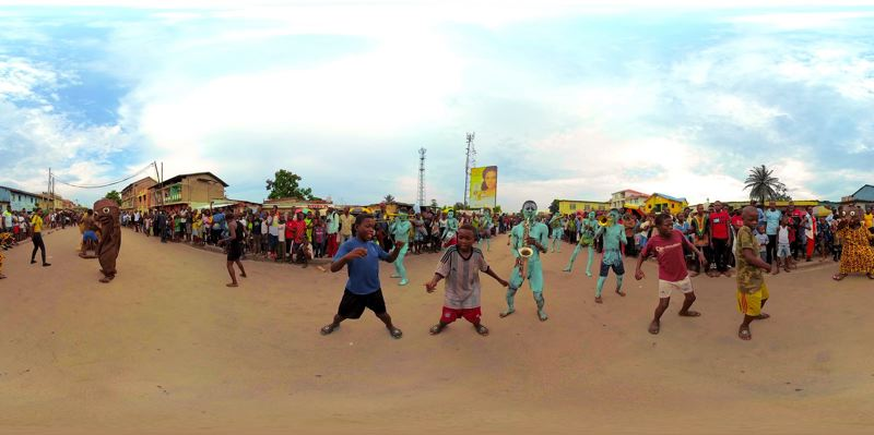 COURTESY PHOTO: PORTLAND ART MUSEUM - 'Kinshasa Now' is one of the entries from Africa in the Venice VR Expanded 2020.