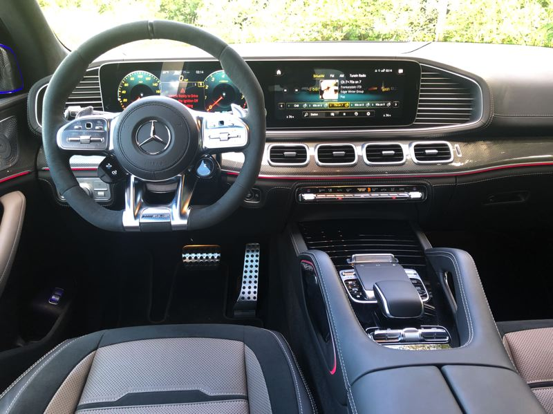 PMG PHOTO: JEFF ZURSCHMEIDE - Inside, you get all the tech you expect from one of Europe's leading luxury car makers and more, including the new Mercedes-Benz User eXperience, or MBUX.