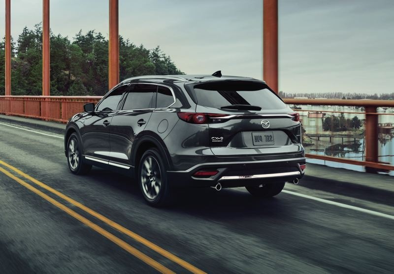 COURTESY MAZDA - Eve the rear of the 2020 Mazda CX-9 looks like a work of art.
