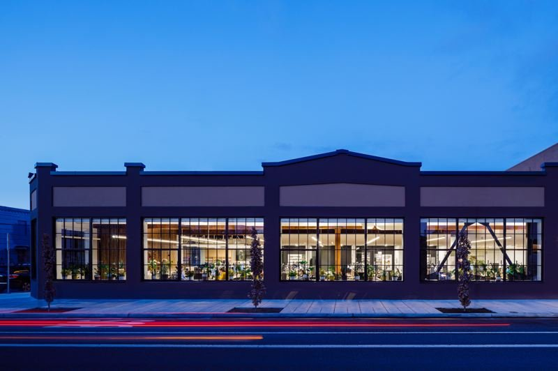 COURTESY: MAHLUM ARCHITECTS - The new offices of Mahlum Architects on Southeast Main Street in Portland.