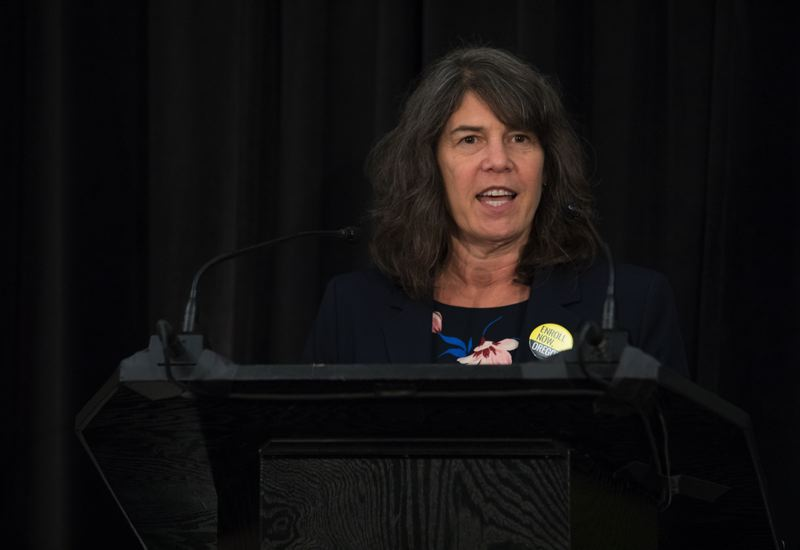 PMG FILE PHOTO - Multnomah County Commissioner Sharon Meieran says a signature-backed initiative needs to be place on the ballot, not tabled.