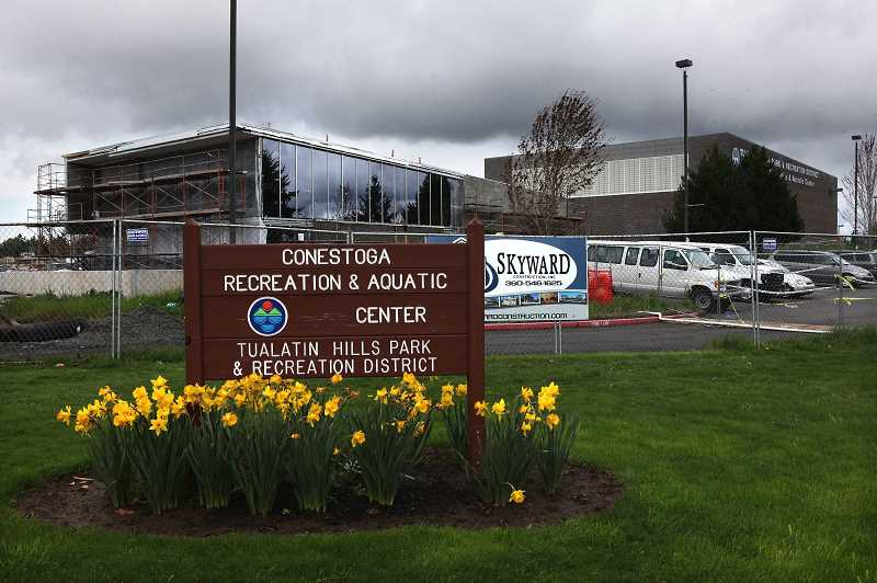 PMG FILE PHOTO - THPRD announced that the Conestoga Recreation & Aquatic Center along with the Tualatin Hills Athletic Center will reopen on Monday, Aug. 31.