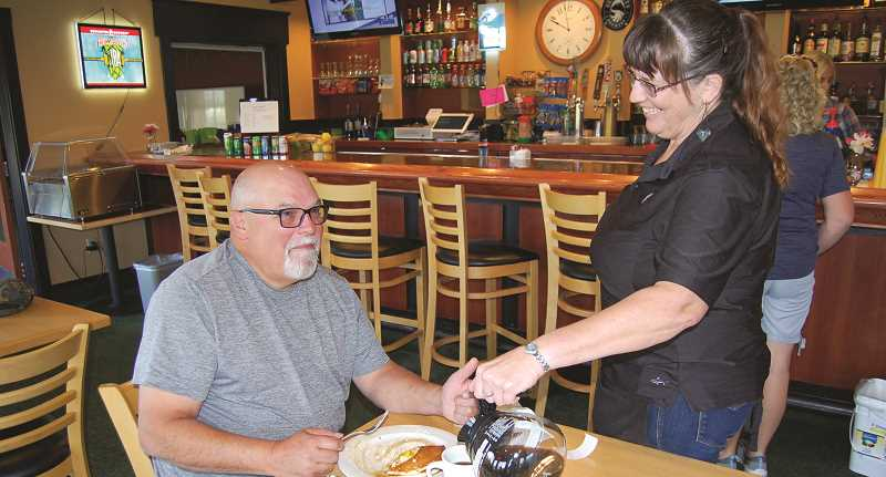 CENTRAL OREGONIAN - Oregon's leisure and hospitality industry, which includes restaurants such as Ron's Comfort Food Cafe, have seen the greatest employment gains since the pandemic restart.