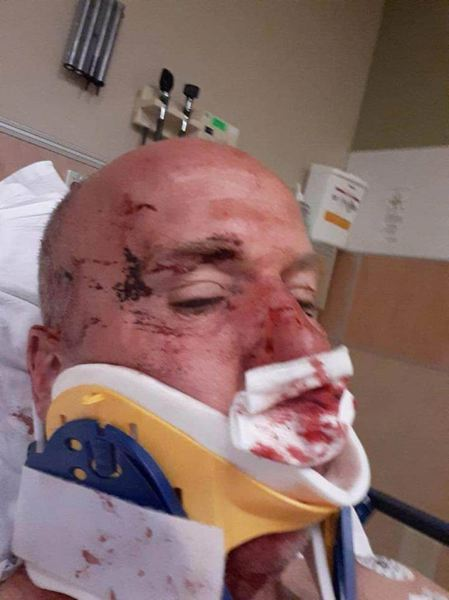 COURTESY - Harlan Wright was assaulted while gathering signatures to recall Oregon Gov. Kate Brown, according to police and media reports.