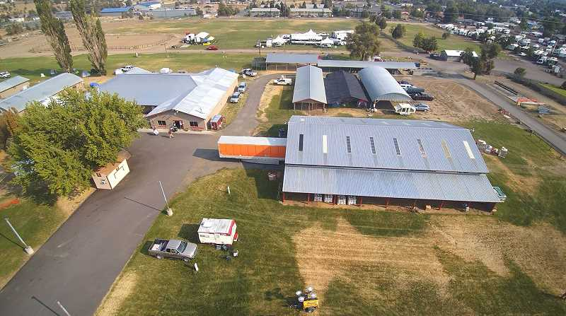 TOM BROWN/FOR THE PIONEER - Incident command has set up at the Jefferson County Fairgrounds for the P-515 and Lionshead fires burning in Warm Springs.