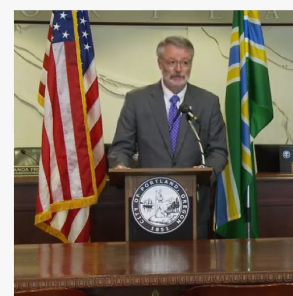 PMG SCREENSHOT - Oregon U.S. Attorney Billy Williams speaks at a press conference in June.