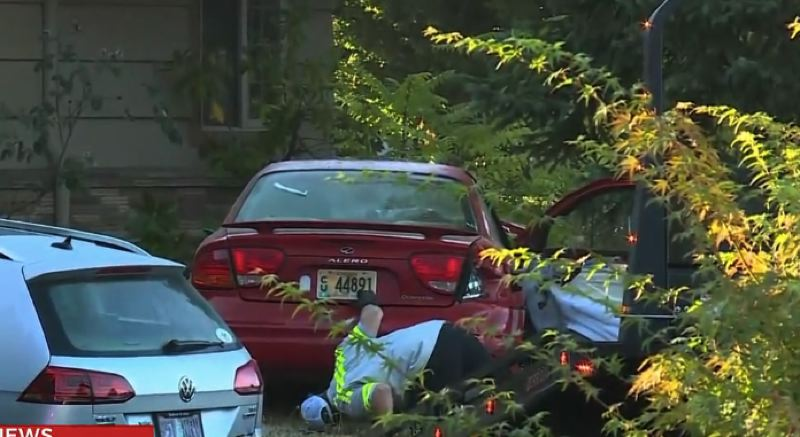 PHOTO COURTESY: KOIN 6 NEWS  - A Sept. 1 crash left one person dead in Portland.