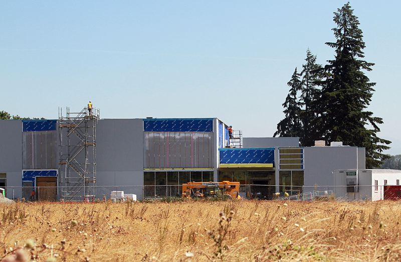 PMG PHOTO: MILES VANCE - As Portland Community College's Oregon Manufacturing Innovation Center in Scappoose continues to grow, the school is planning to open classes in January 2021.