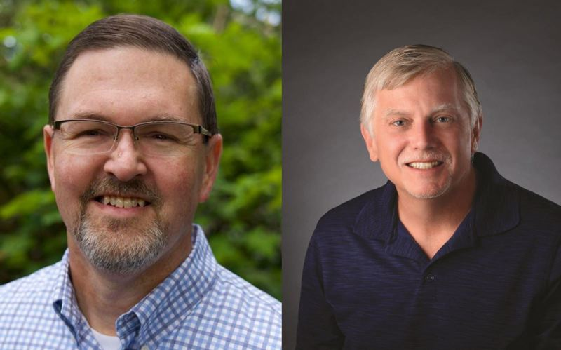 COURTESY PHOTOS - Woodburn Ward VI City Councilor Eric Morris (left) is challenging incumbent mayor Eric Swenson, who is seeking to win his second term in November., Woodburn Independent - News Cities up and down northern Marion County will feature contested races for mayor and city council positions Election season