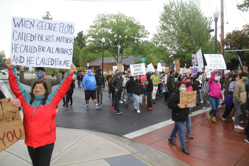 PMG PHOTO: JUSTIN MUCH - Woodburn City Councilor Eric Morris criticized Mayor Eric Swenson's communication regarding a Black Lives March through downtown Woodburn in June.