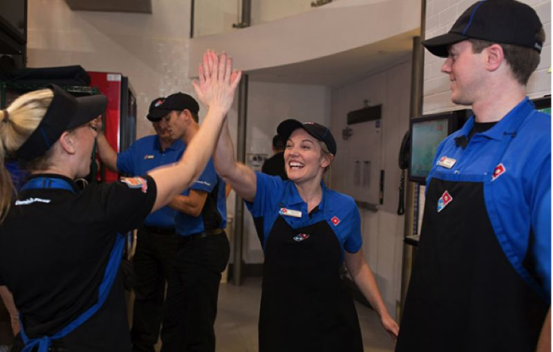 COURTESY PHOTO: DOMINO'S - Domino's stores throughout the greater Portland area are looking to hire about 275 workers.