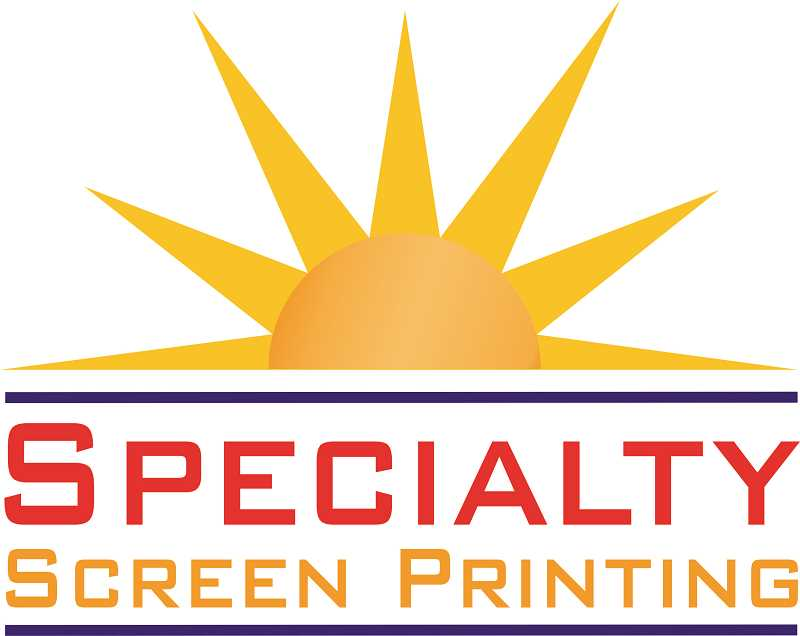 COURTESY PHOTO - Specialty Screen Printing logo.