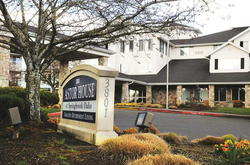 PMG FILE PHOTO - A former Astor House resident has joined others in taking the Newberg retirement facility to task for inadequate care.