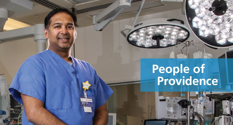 Kevin J. Koomalsingh, M.D., Surgical Director for the Providence Heart Transplant Program