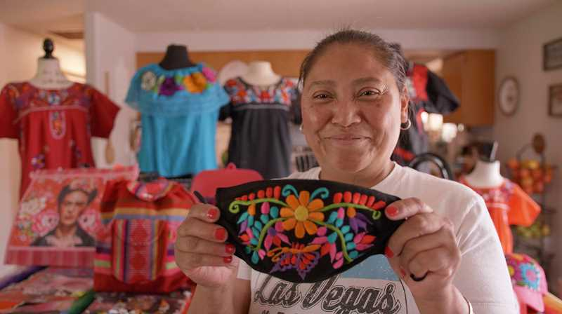 PHOTO BY JESSE LOCKE, UNLOCKED FILMS - Madras resident and small business owner Maria Ortiz will be featured during the Sept. 12 virtual Latino Fest.