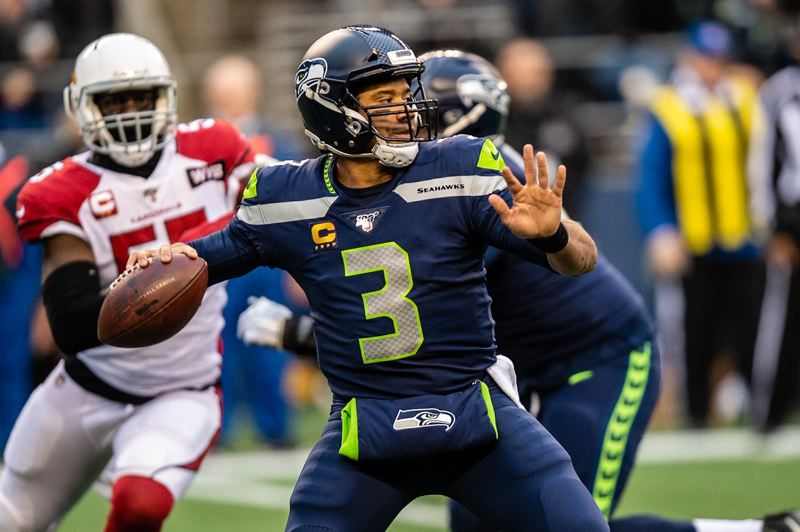 MICHAEL WORKMAN PHOTO - With Russell Wilson in his prime, the Seahawks have a chance to be contender in the NFC West — the toughest division in the NFL.