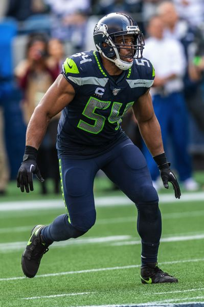 MICHAEL WORKMAN - Linebacker Bobby Wagner leads a Seahawks defense that should be improved in 2020.