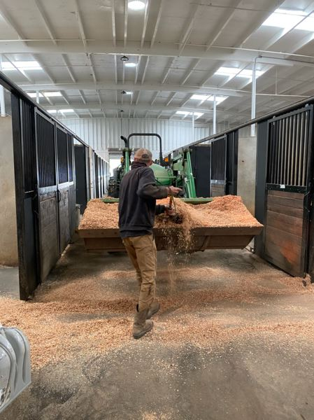 COURTESY PHOTO: MT. HOOD EQUESTRIAN CENTER - Mt. Hood Equestrian Center is one business in East Multnomah County that has stepped up to help those fleeing wildfires.