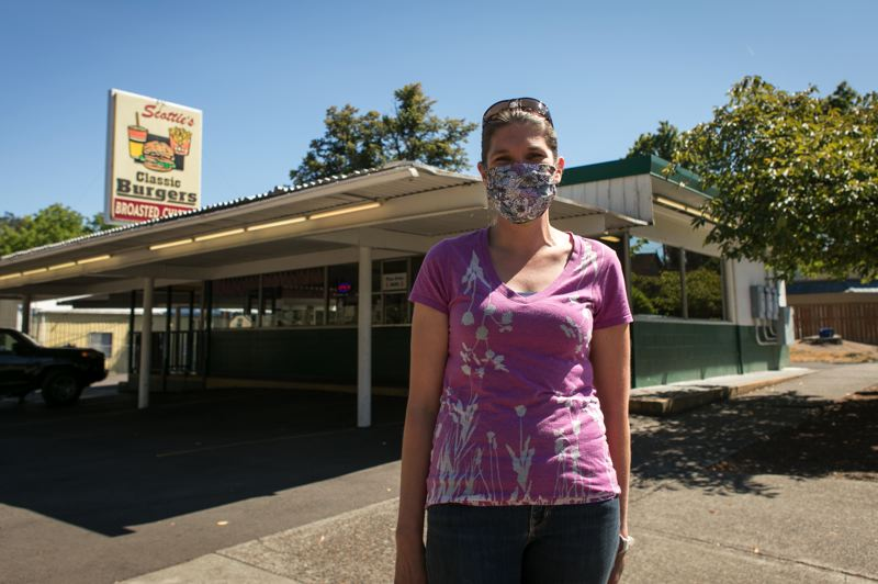 PMG PHOTO: JAIME VALDEZ - Scottie's Drive-In of Forest Grove is doing well in the pandemic.