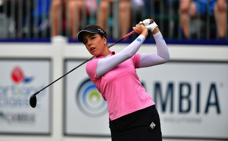 COURTESY PHOTO: LPGA/GABE ROUX - Georgia of England says the Cambia Portland Classic is one of her favorite stops on the LPGA Tour. The tournament, without fans, runs Sept. 17-20 at Columbia Edgewater Country Club.
