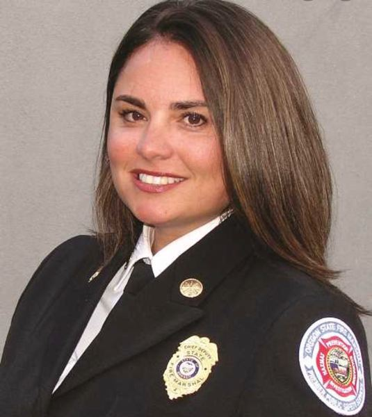 VIA OSP - Mariana Ruiz-Temple has been named acting fire marshal for Oregon