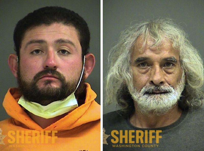 VIA WCSO - FROM LEFT: Alejandro Galvan Acosta and Clyde Willcutt.