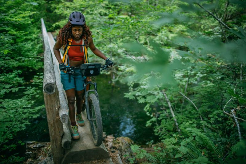 COURTESY PHOTO: WOLF & SCOUT - Analise Cleopatra had an eye-opening experience in Oregon backcountry, documented in 'Pedal Through.'