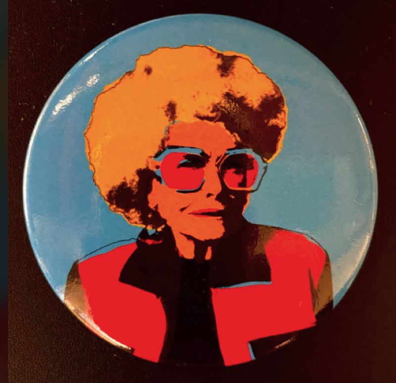 COURTESY: CHARLES FROELICK - Portland art lover Glenda Goldwater was an icon to local artists for her good humor and supportive nature.