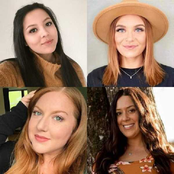 COURTESY PHOTO: KRYSTALYN SALYER - Four women from Ellie May's Beauty Bar are donating services for the Beauty Package Raffle. They are (clockwise): Gigi Rascon, Bri Gurnett, Michelle Tankersley and Renae Diaz.