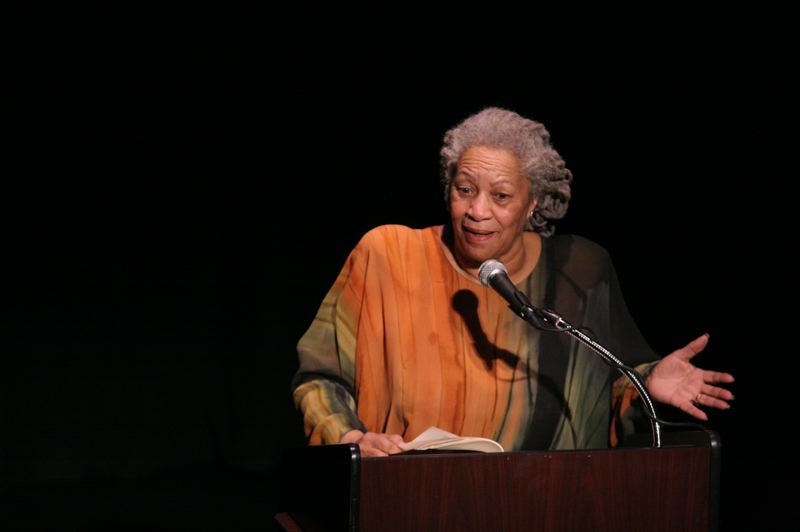 PHOTO BY ANGELA RADULESCU, COURTESY OF WIKIMEDIA COMMONS.   - Toni Morrisons work will be included in a new African American Literature class offered this fall and winter for the first time by Mt. Hood Community College. Here Morrison is speaking to a group in New York City in 2008.