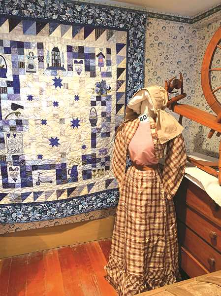 PMG FILE PHOTO - The Old Aurora Colony Museum's 48th annual quilt show will be held over two weekends in October.