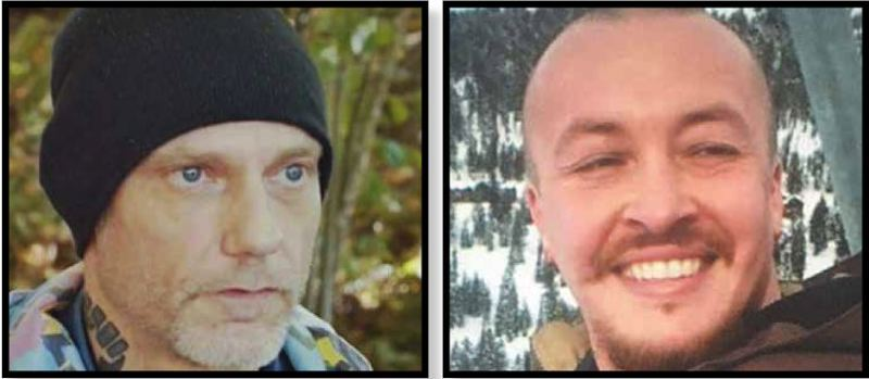 PMG FILE PHOTOS - Michael Forest Reinoehl (left) and Aaron 'Jay' Danielson.