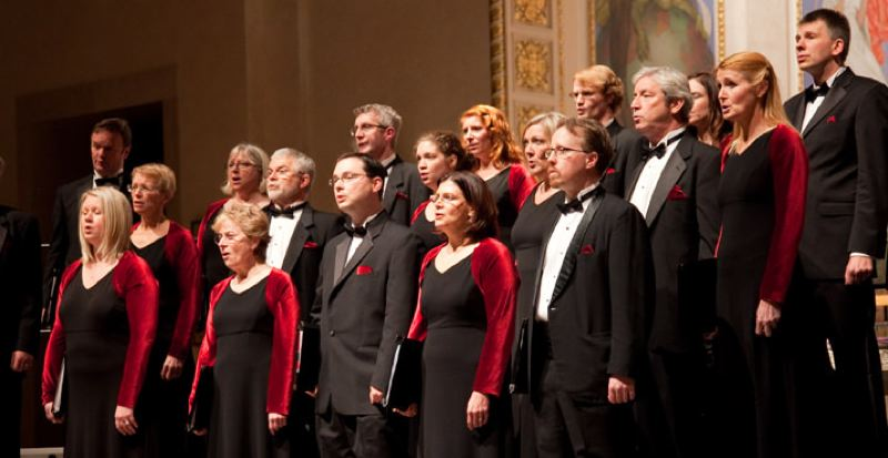 COURTESY PHOTO - Oregon Repertory Singers are part of 'Fall into the Arts' festival by All Classical Portland.