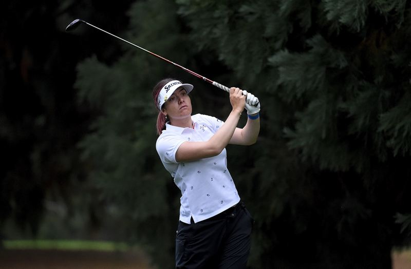 LPGA COURTESY PHOTO: STEVE DYKES/GETTY IMAGES - Defending champion Hannah Green shot 6-under-par 66 on Friday for a share of the lead at the LPGA Cambia Portland Classic at Columbia Edgewater Country Club.