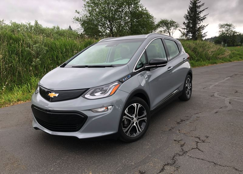 PMG PHOTO: JEFF ZURSCHMEIDE - The 2020 Chevy Bolt EV is a stylish compact hatchback that is is fun to drive and now EPA rated at 259 miles on a full battery charge.