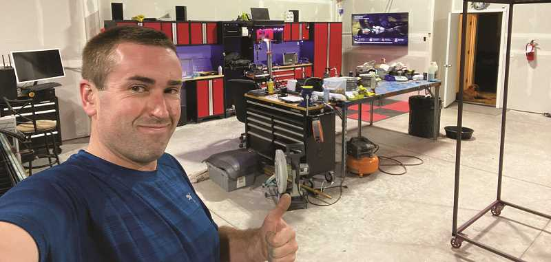 RAMONA MCCALLISTER - Tim Schelhaas opened his welding fabrication business, Top Dog Fabrications, in July, 2020. His primary focus is working with metal. He also provides services with fiberglass, wood, glass, composites and plastics. Schelhaas also has a motorsports division, TDF Motorsports.