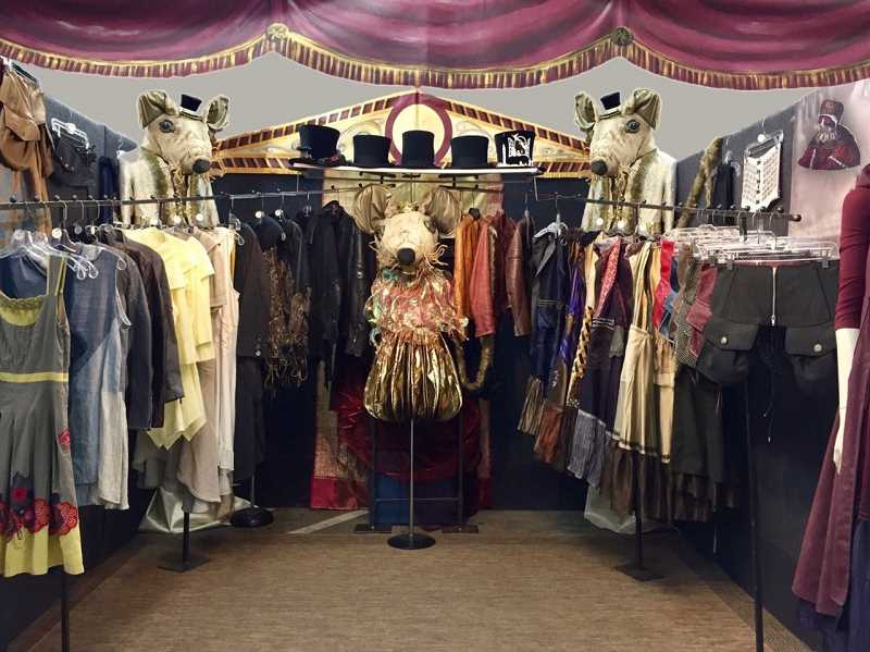COURTESY PHOTO: UTE MONJAU-PORATH - Beaverton resident and costume designer Ute Monjau-Porath is usually putting costumes together for films, theater shows, or in-person art festivals. This year, she has had to adjust to the coronavirus pandemic.
