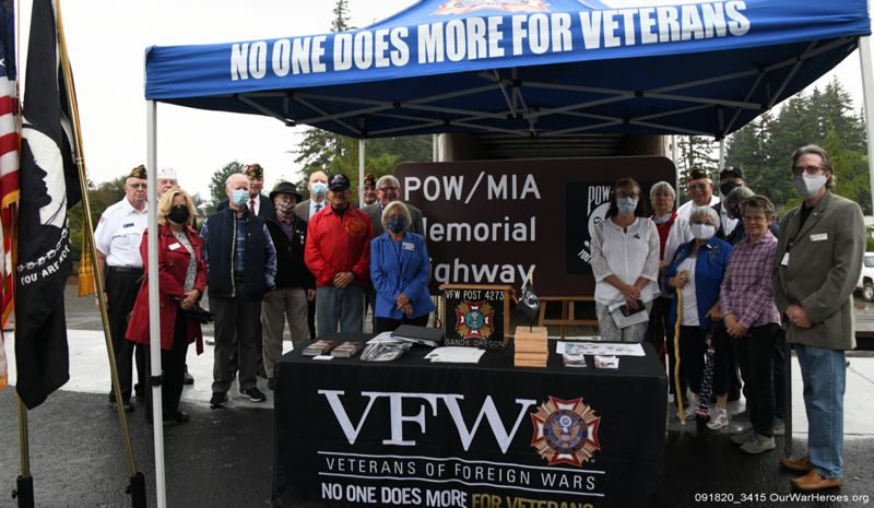 Highway 26 officially dubbed POW-MIA Memorial Highway