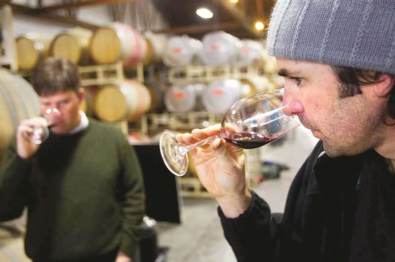 PMG FILE PHOTO - Data recently released by the Oregon Wine Board (OWB) indicates consistent growth in the industry in 2019 — gains that continued through part of 2020 despite the recession.