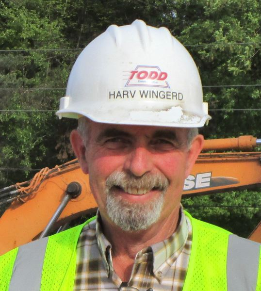 COURTESY: TODD CONSTRUCTION - Harvel Wingerd of Oregon City spent 50 years with Todd Construction, most of it as a superintendent.